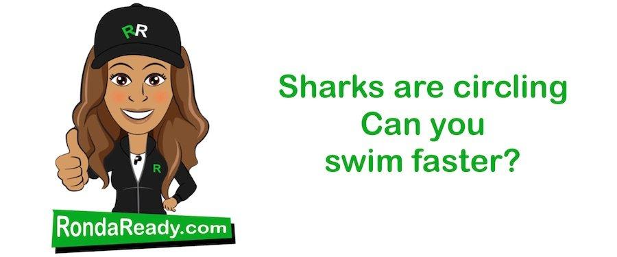 Sharks are circling