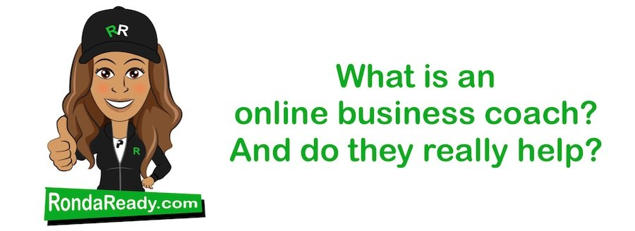 What is an online business coach?