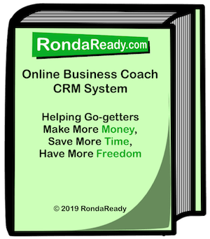RondaReady online business coach CRM system downloadable book