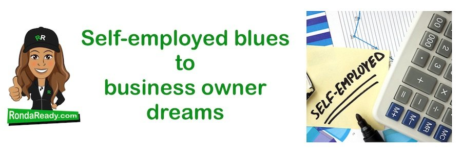 Self-employed blues to business owner dreams