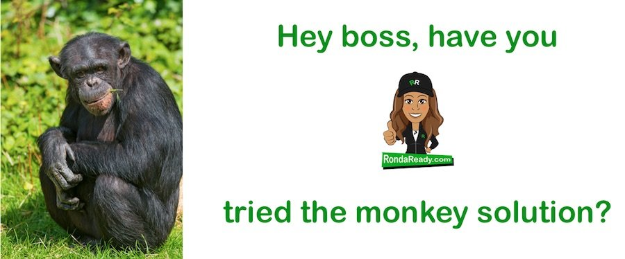 Have you tried the monkey solution?