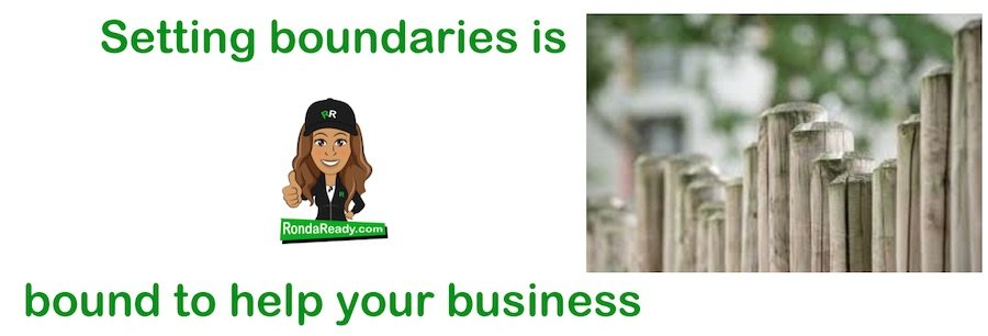 Setting boundaries is good for you and your business