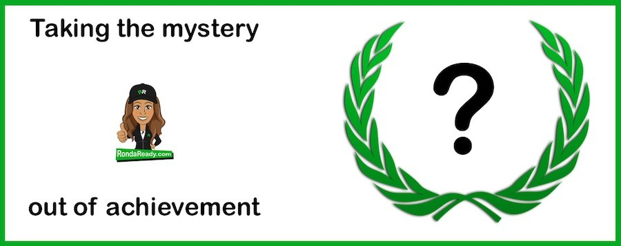 Mystery achievement or effort - the choice is yours