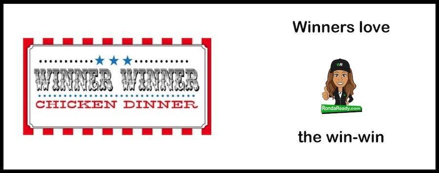 Winners love the win-win
