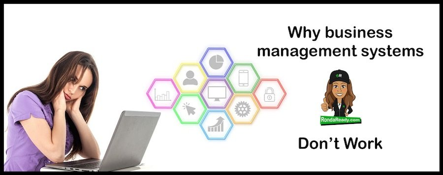 Why business management systems don't work