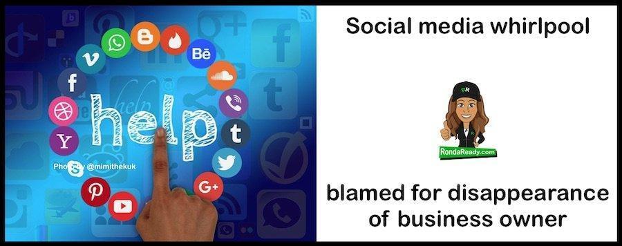 Social media whirlpool