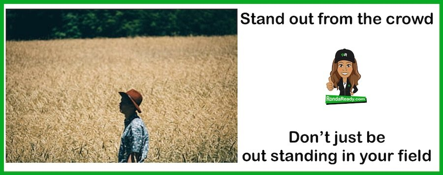 Are you a stand out?