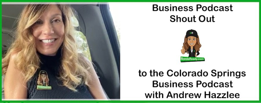 Here's a business podcast shout out