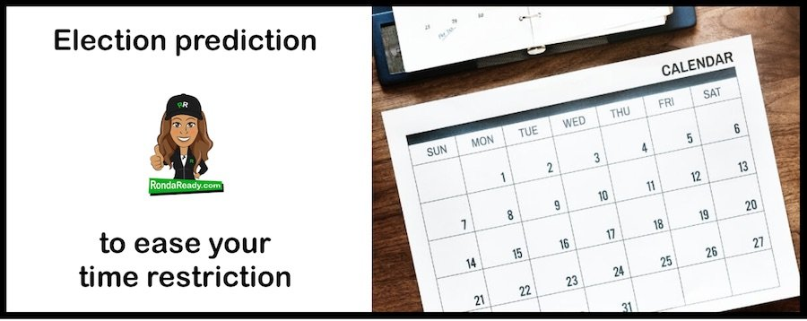 Election prediction to ease your time restriction