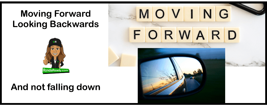 Moving forward by looking backwards