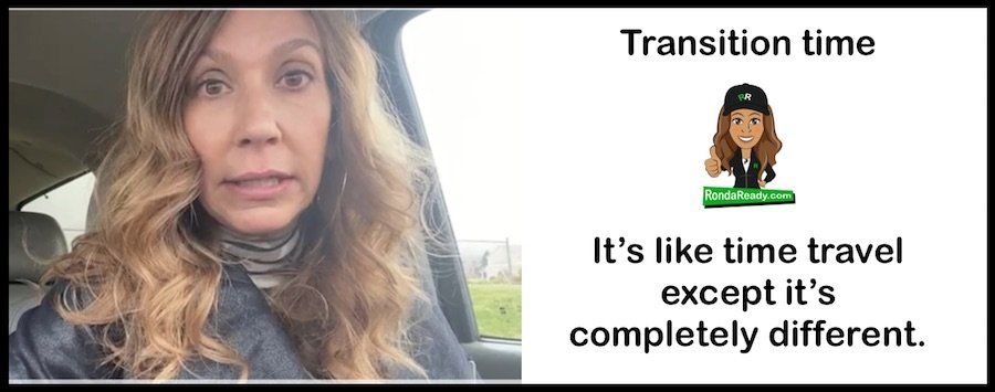 What is transition time?