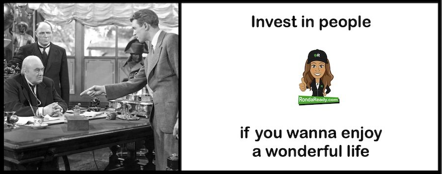 Invest in people for a more wonderful life