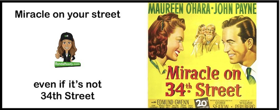 Miracle on your street