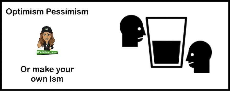 Optimism or Pessimism? Yes