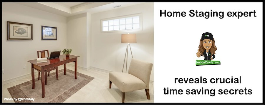 Home staging needs a system, too.