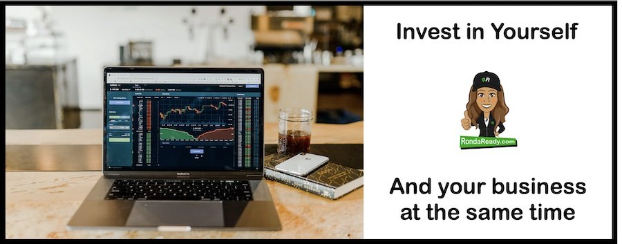 Invest in yourself and reap rewards for you AND your business.