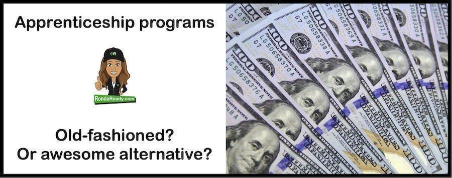 Apprenticeship programs increase Benjamins