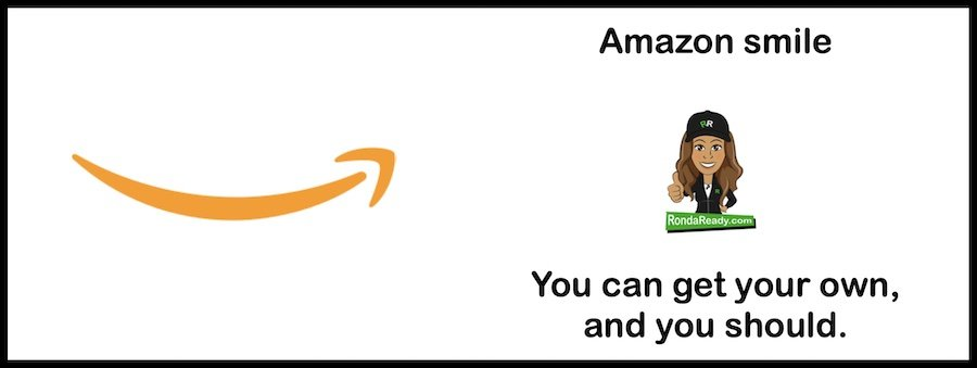 You should consider getting your own Amazon smile.